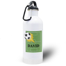 Soccer Personalized Kids Water Bottle