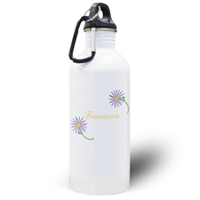Daisy Personalized Water Bottle