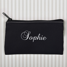 Personalized Name Cosmetic Pouch