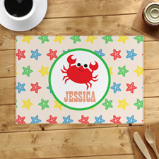 Crab Personalized Placemat