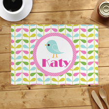 Bird Personalized Placemat