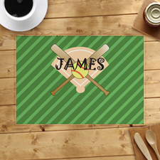 Softball Personalized Placemat