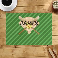 Softball Personalized Placemat