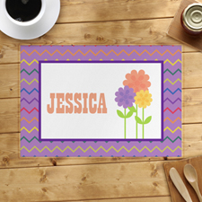 Flower Personalized Placemat