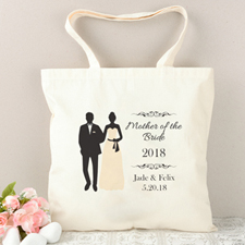 Mother Of The Bride Personalized Tote Bag