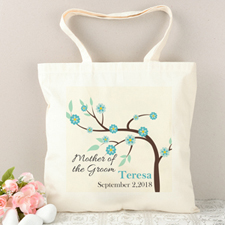 Mother Of The Groom Bloom Personalized Tote Bag