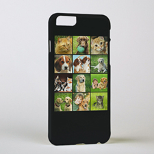 Black Twelve Collage Personalized Photo iPhone 6 Case
