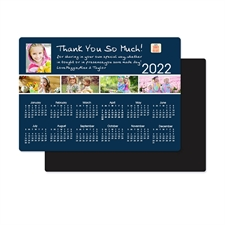 2018 Five Collage Photo Calendar Magnet 3.5