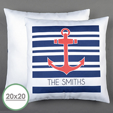 Anchor Personalized Large Pillow Cushion Cover 20