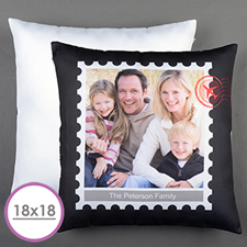 Stamp Personalized Large Cushion 18