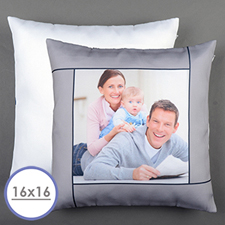 Grey Personalized Pillow Cushion Cover 16