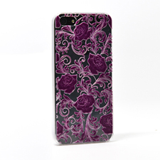 Floral Custom Raised 3D iPhone 5 Case