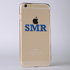 Monogrammed Raised 3D iPhone 6 Case
