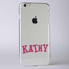 Personalized Name Raised 3D iPhone 6+ Case