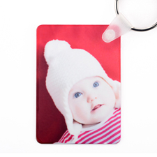 Personalized Photo Aluminum Keychain