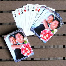 Custom Playing Cards Personalized Wedding Favors