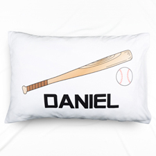 Baseball Personalized Name Pillowcase