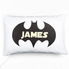 Bat Personalized Name Pillowcase