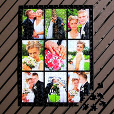 Black Nine Collage 12x16.5, 285 or 54 Piece