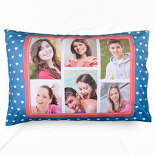 Six Collage Personalized Photo Pillowcase