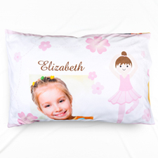 Dance Personalized Photo Pillowcase