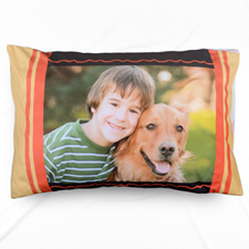 Mustard Personalized Photo Pillowcase
