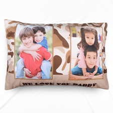 Love You Dad Personalized Photo Pillowcase