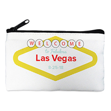 Las Vegas Wedding Personalized Cosmetic Bag