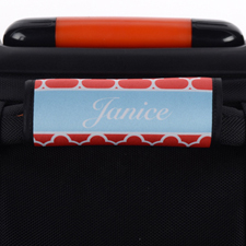Red Clover Personalized Luggage Handle Wrap