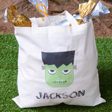 Mummy Personalized Trick Or Treat Bag