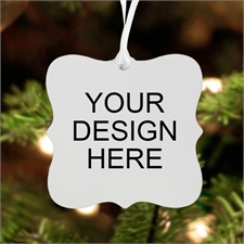 Custom Front Metal Ornament Ornate 3