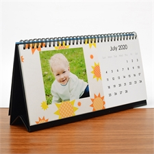 Fresh Personalized Desk Calendar, 5