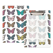 Butterflies Personalized Clipboard