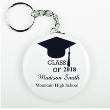 Graduation Party Personalized Button Keychain
