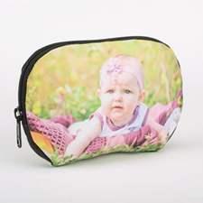 Custom Photo Zipper Pouch 6.8X4.8 (Large)