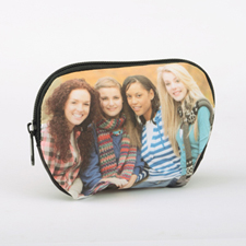 Custom Photo Zipper Pouch 6X4.5 (Medium)