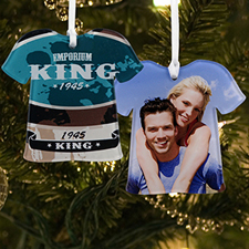 Personalized Photo Acrylic Ornament T Shirt Shape