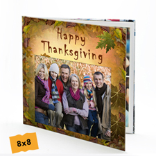 Thanksgiving Hardcover 8X8 Photo Book
