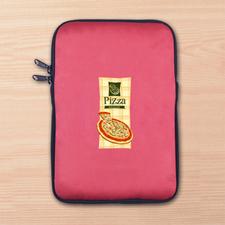 Custom Full Color Print Logo Ipad Mini Sleeve, Red