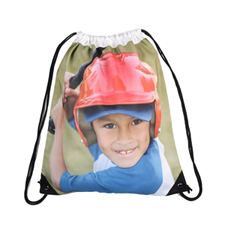 Personalized Photo Drawstring Backpack