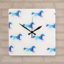 All Over Print Custom Acrylic Clock 10.75