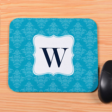 Blue Vintage Personalized Mousepad