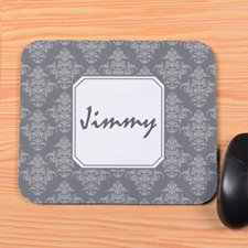 Charcoal Vintage Personalized Mousepad