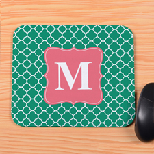 Green Clover Personalized Mousepad