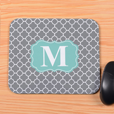 Grey Clover Personalized Mousepad