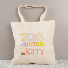Egg Hunter Personalized Easter Tote