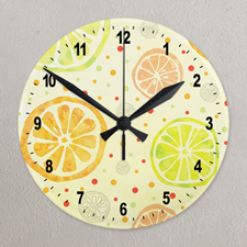 Custom Full Color Wall Clock Custom Printed