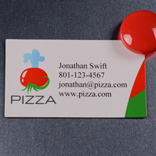 Custom Imprint 2 X 3.5 Business Card Magnet