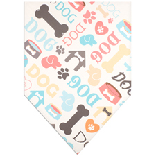 All Over Print Doggie Bandana Large 22