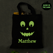 Personalized Glow In The Dark Trick Or Treat Bag